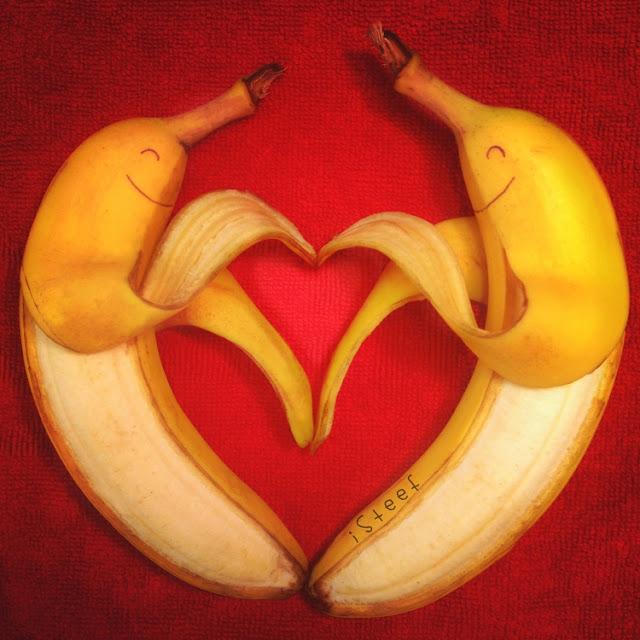 lukisan media pisang paling kreatif unik lucu dan menakjubkan-8