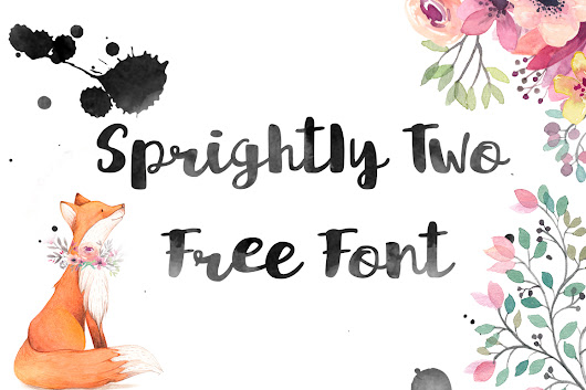 Sprightly Two Free Font