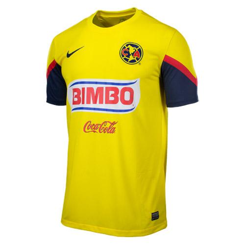 8ce4bece5 Uniformes de Futbol  Playera Nike del Club America 2012 2013