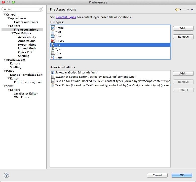 javascript code assist aptana tutorial