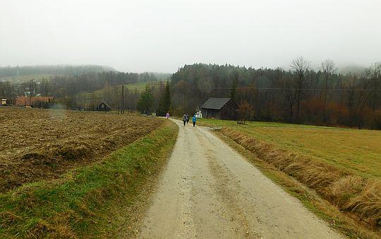 Wzniesienie między osiedlami Bugaj Zakrzowski i Bugaj Stryszowski.
