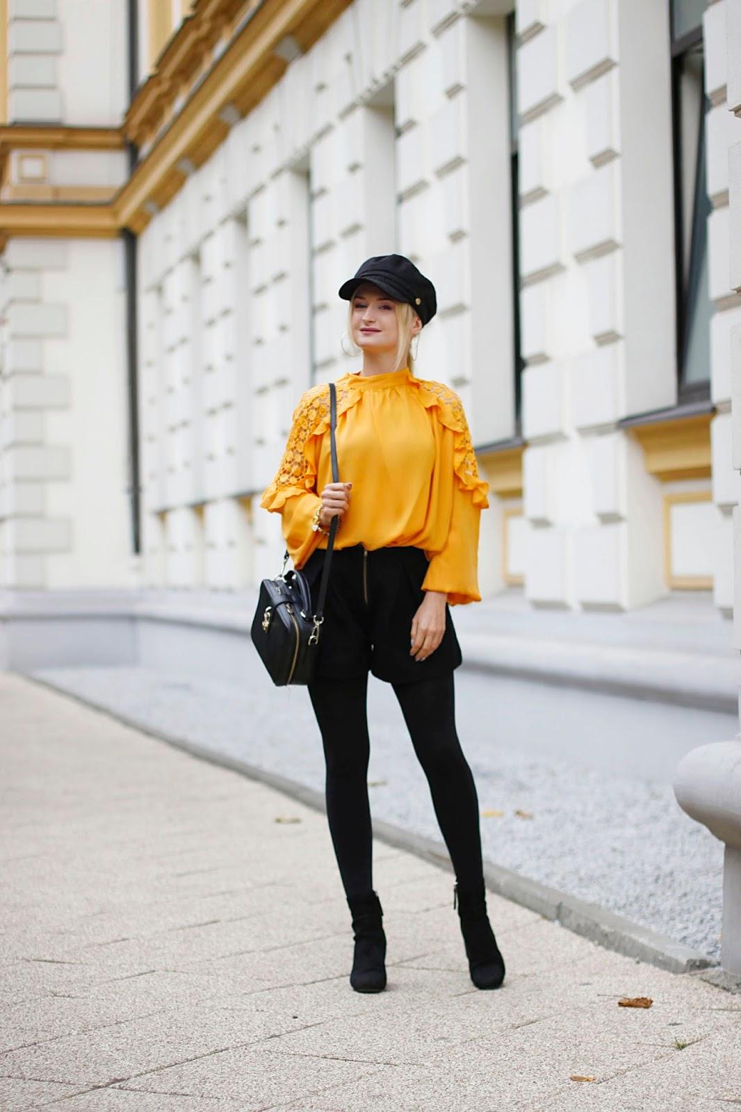 Żółty, to nie jest kolor dla blondynek?