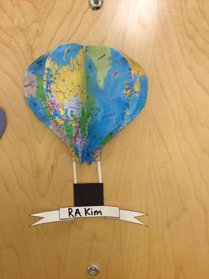... with hot air balloon door decorations an \u201cOh the Places You\u0027ll Go Around Milwaukee\u201d bulletin board and a \u201cSoar Through Second Semester\u201d bulletin board ... & UW-Milwaukee Living Learning Communities: Welcome to Second ...
