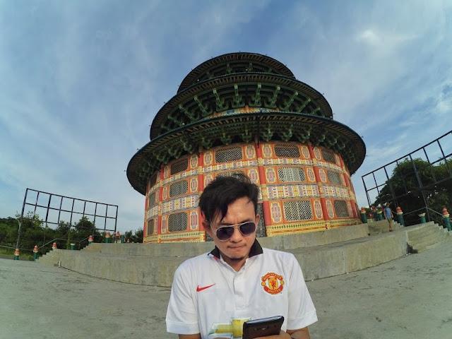 Pagoda Tian Ti Kenjeran Park Surabaya