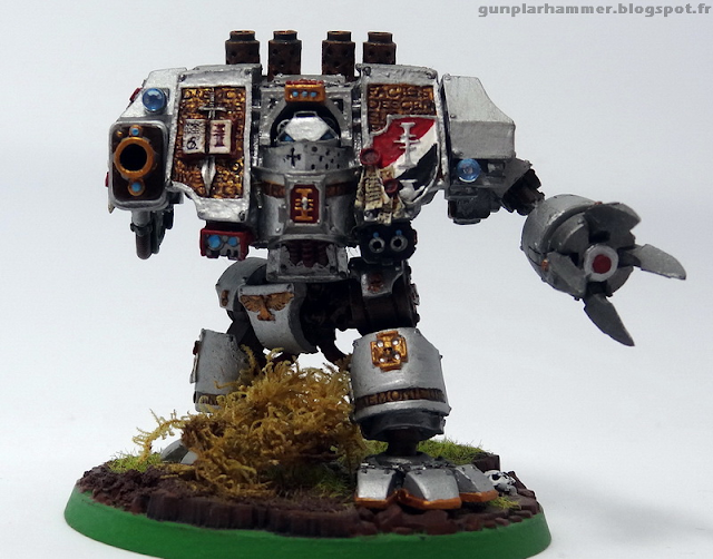 Dreadnought Chevalier Gris Daemonhunter Forgeworld
