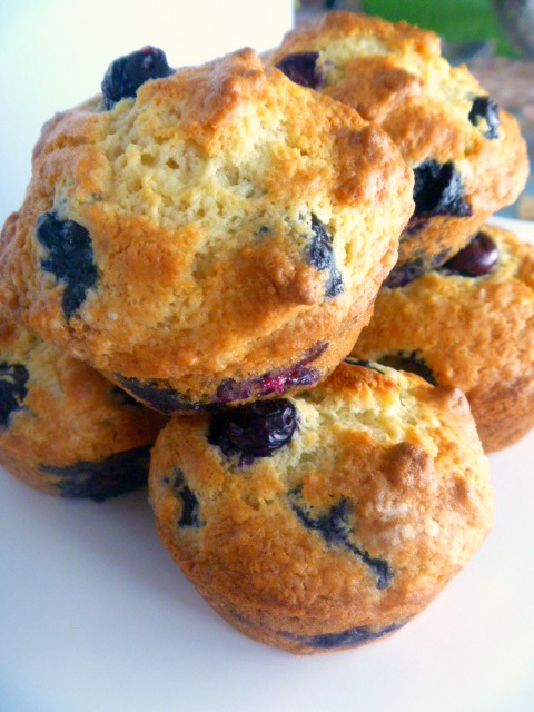 11 Best Dishes of 2018 - Lemon Blueberry Muffins - Slice of Southern