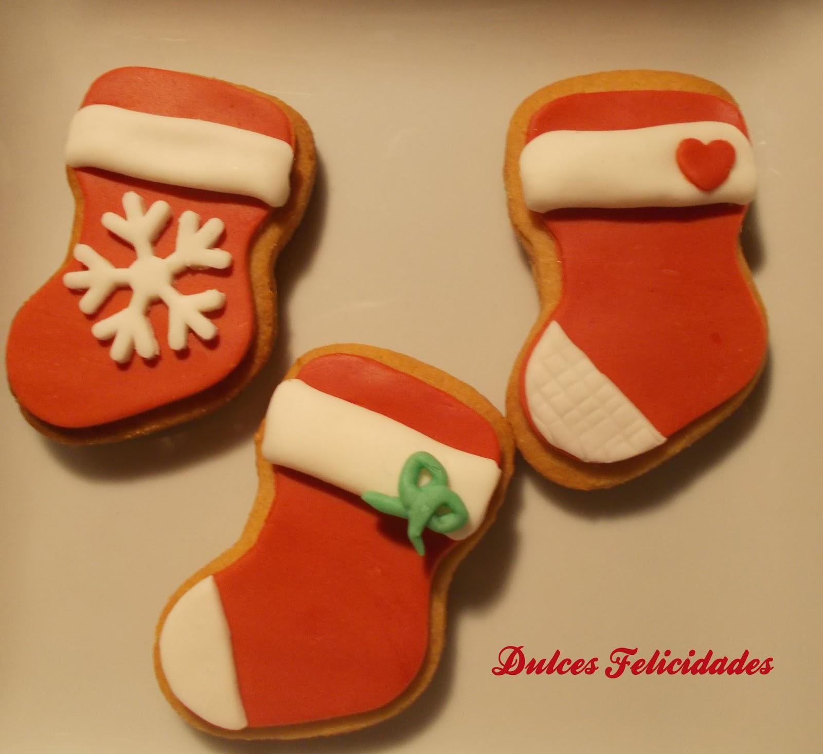 Galletas Navideñas Decoradas Con Fondant I Dulces Felicidades