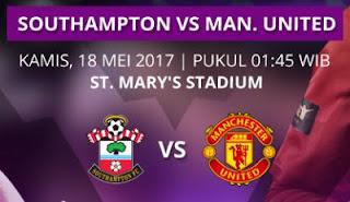 Prediksi Southampton vs Manchester United 18 Mei 2017