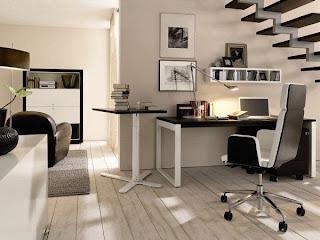 decoración oficina moderna