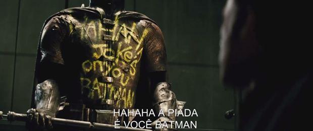 A piada é vocÊ Batman