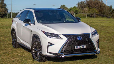 The All New 2016 Lexus RX 450h SUV HD Photo