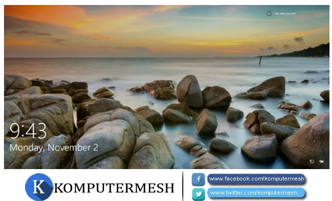 Cara Menghilangkan (Disable) Lock Screen Windows 8/10