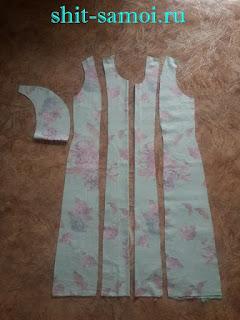 Выкройка платья с крылышками