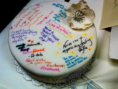 Cakes N Goodies Farewell Cake