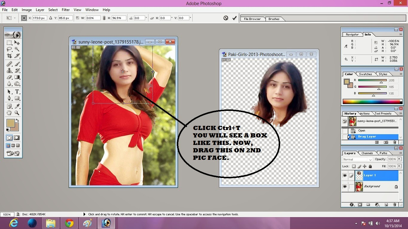 image editing make fake pic of girl