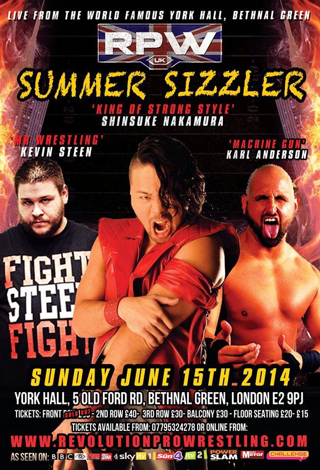 That Wrestling Blog: RPW Summer Sizzler 2014 review