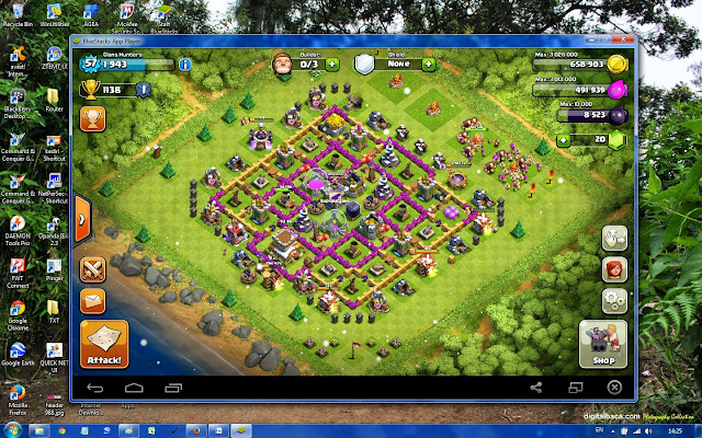 Menjalankan Games Android di Laptop / PC dengan BlueStacks