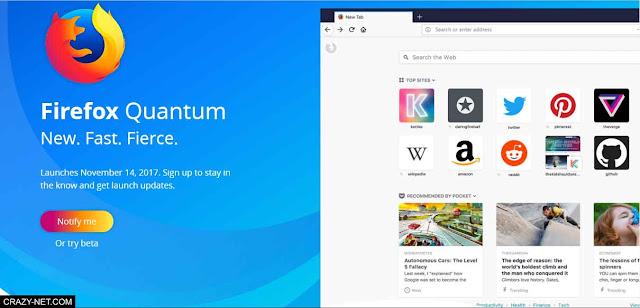 تحميل متصفح Firefox Quantum الجديد و تعرف علي اهم مميزاته