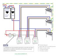 centralisation de volets avec micromodules yokis schema electrique. Black Bedroom Furniture Sets. Home Design Ideas