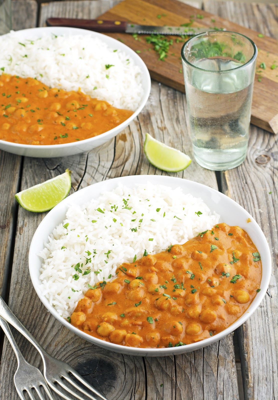 (Vegan) Coconut Curry Chickpeas