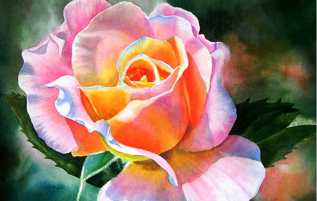 Cuadros modernos pinturas y dibujos flores acuarelas en for Pinturas bodegones modernos