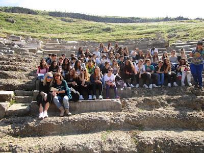 Το Αρσάκειο Ιωαννίνων καλωσόρισε και ξενάγησε το 4ο Γυμνάσιο Πρέβεζας στην αρχαία πόλη των Γιτάνων, στην Θεσπρωτία
