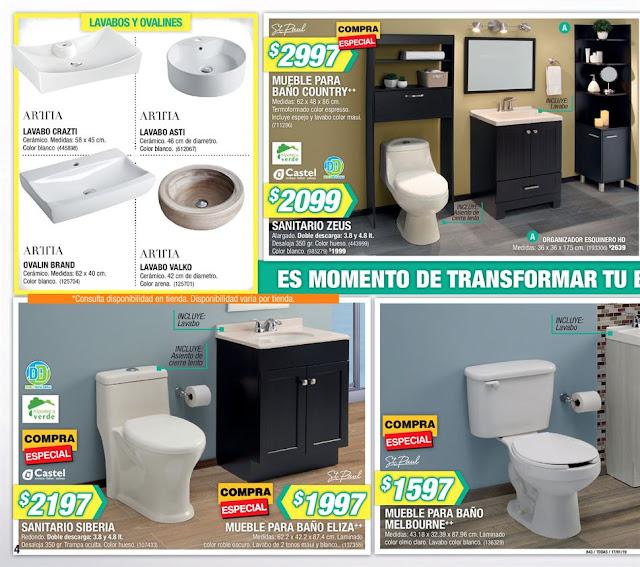Catalogo Home Depot baños