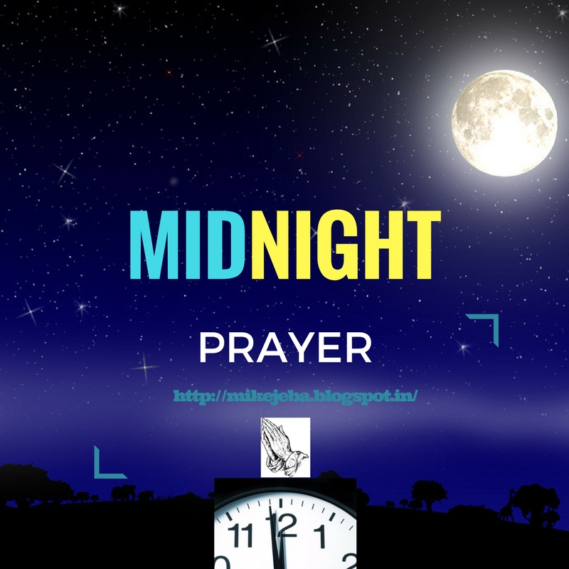 MID NIGHT PRAYER