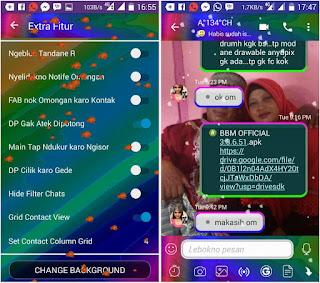 Download BBM Mod Disco Mix V3.3.6.51 Apk Terbaru