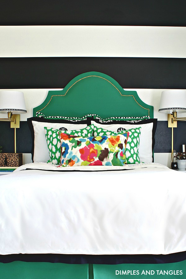 how to make an upholstered headboard with curved top