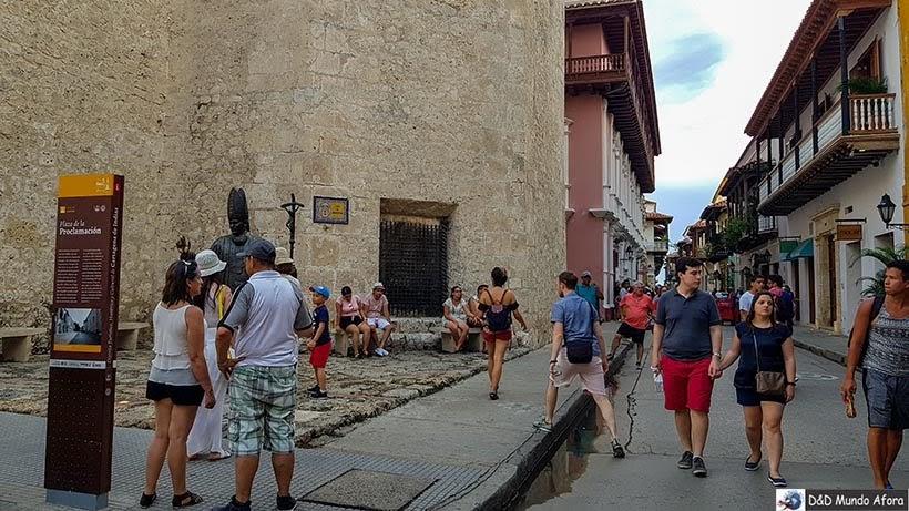 Plaza de la Proclamación - O que fazer em Cartagena, Colômbia
