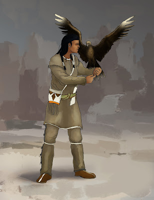 Native American eagleer