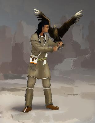 Native American eagleer