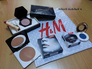 H&M, Scarlett Fever, Tawny Peach, Golden Honey, Mediterranea