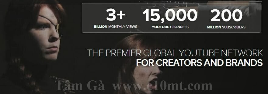 the premier global youtube network for creators and brands