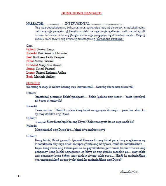 Tagalog Radio Script - 0425