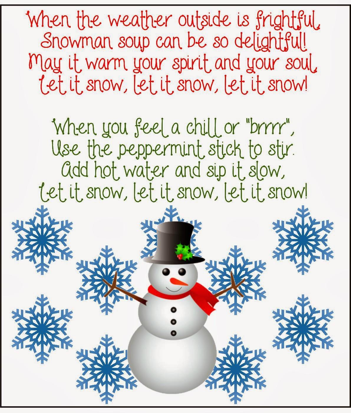 Stay N Play Preschool Snowman Soup Snowman Poop And