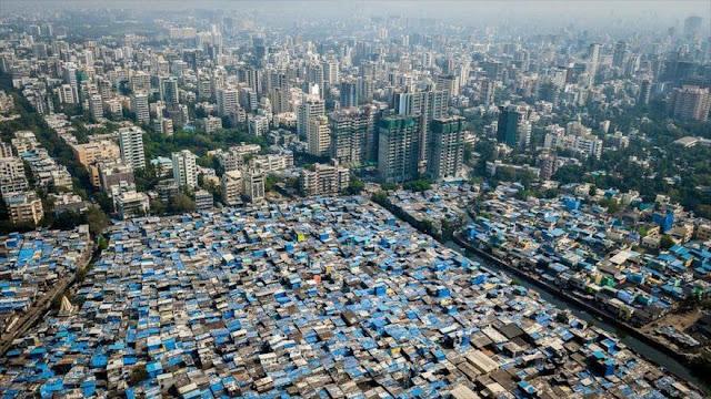 Fotografías aéreas revelan profunda división entre ricos y pobres