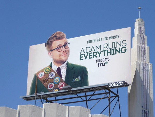 Adam Ruins Everything season 2 extension billboard
