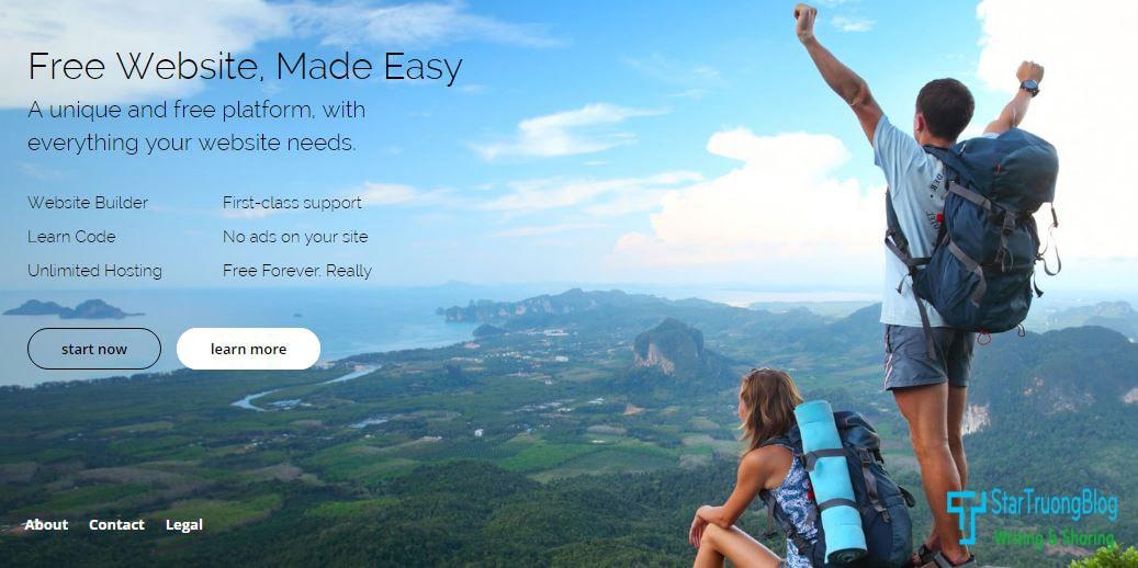 Hosting OneSite  Unlimited - Tạo website hoàn toàn miễn phí trên nhiều nền tảng khác nhau