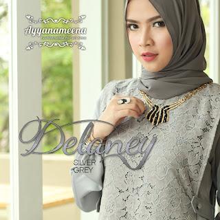 Ayyanameena Delaney Silver Grey