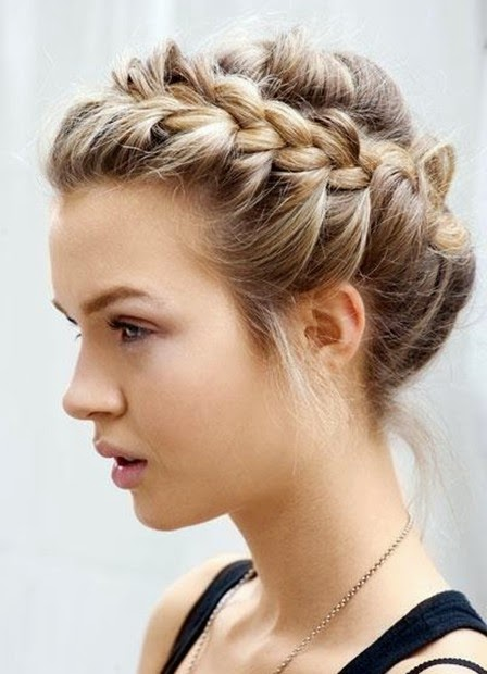 Magnificent New Long Hair Updos For Prom 2015 Jere Haircuts Short Hairstyles Gunalazisus