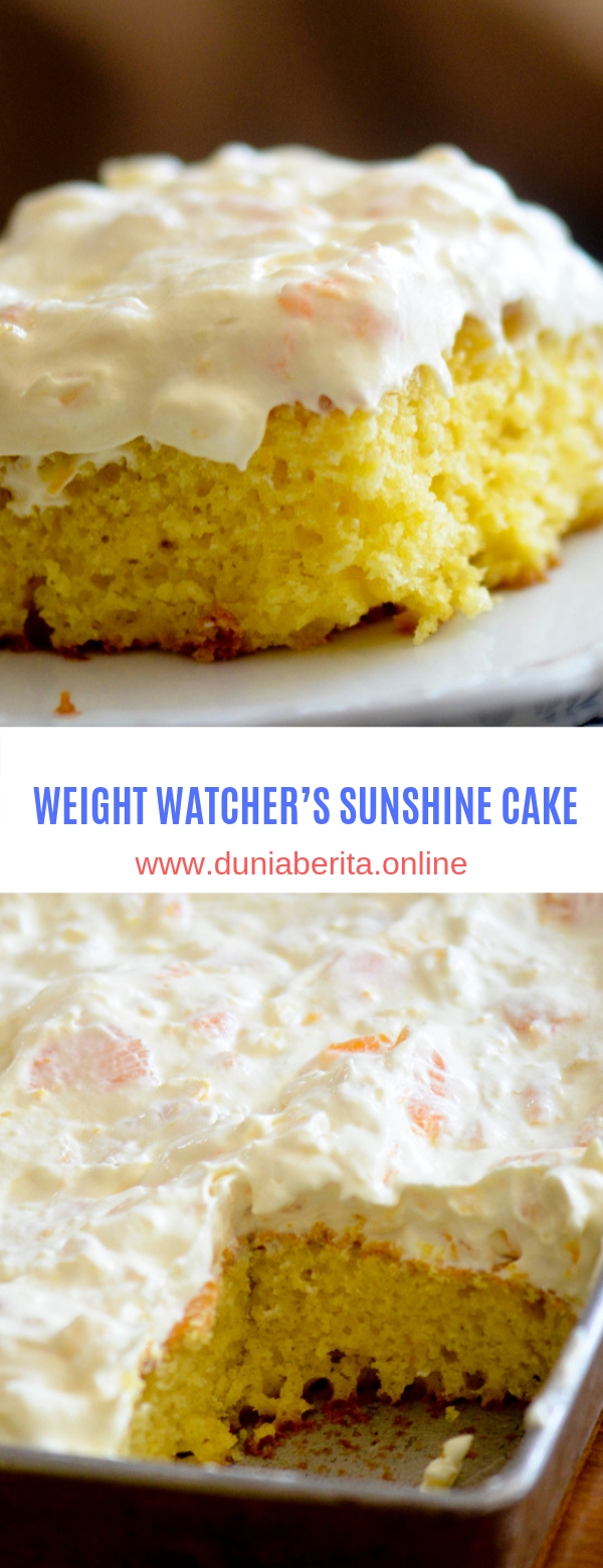WEIGHT WATCHER'S SUNSHINE CAKE