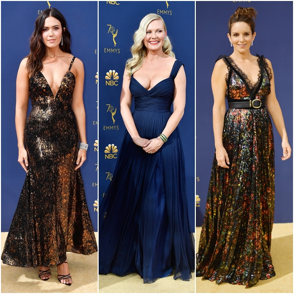 Os looks do Emmy Awards 2018