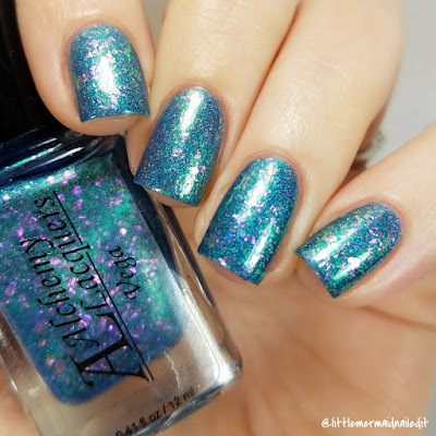 Alchemy Lacquers Star Shards Collection Vega Swatches and Review