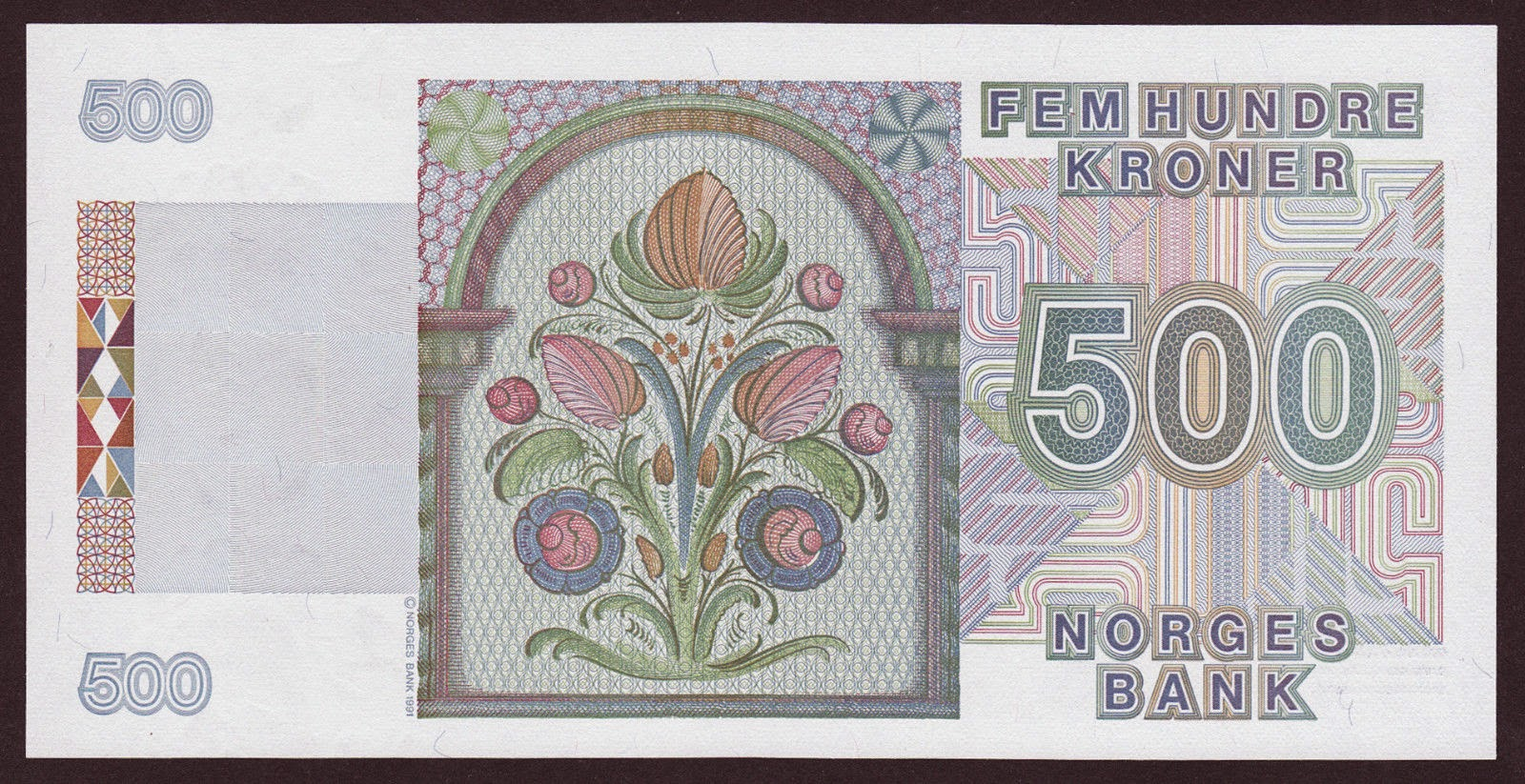 Norway Banknotes 500 Kroner note