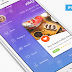 Zibly Food Discovery App Freebie