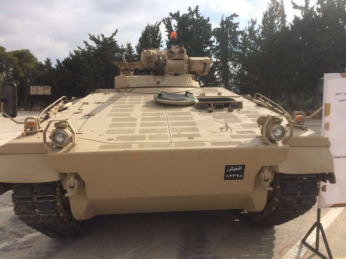 The first modernized warrior 2 infantry fighting vehicles transferred to the British Army 28