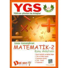 Dahi Adam YGS Matematik 2 Konu Anlatımlı (2015)