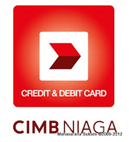 CIMB Niaga Credir and Debit Card